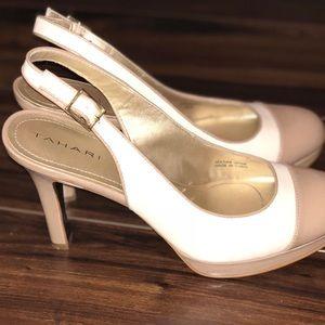 Tahari Shoes - Tahari two toned heels.
